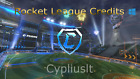 Tradable Credits - Rocket League Pc!!! Fast Delivery!!!
