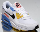 Nike Air Max 90 Women's White Black Platinum Athletic Lifestyle Sneakers Shoes