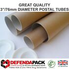 MAILING TUBES STRONG Postal Poster Art 75mm 3