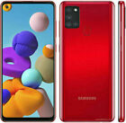 NEW SAMSUNG Galaxy A21s 32 & 64 GB 2020 Android Smart Phone 4 Colours UK Seller