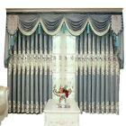 Blackout Thermal Chenille Curtain Window Tulle Drape Water Soluble Grommets Chic