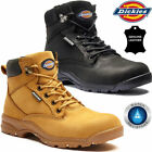 Ladies DICKIES Leather Safety Boots Steel Toe Cap Work Hiking Shoe Ankle Trainer