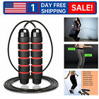 4packs Jump Ropes - Speed Skipping Rope Tangle Free Jumping Workout Fitness Us H