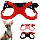 Soft Suede Leather Small Dog Harness for Puppies Chihuahua Yorkie Ajustable