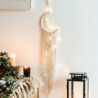 Dream Catcher Moon Owl Macrame Woven Handmade Wall Hanging Craft Home Boho Decor