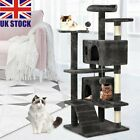 Extra Large Cat Tree Tower Kitten Scratching Post Pets Activity Centre Scratcher