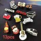 Luke Combs Country Song King Croc Shoe Charms  Bracelet  Wristband Accessories
