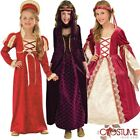 Velvet Gothic Princess Girls Costume Halloween Fancy Dress Party Outfit