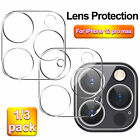 For iPhone 12 Pro Max Tempered Glass Camera Lens Cover Screen Protector 1/3 Pack