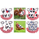 Breathable Quilted Fabric Pet Vest Chicken Hen Saddle Apron for Poultry Duck