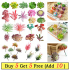1x Artificial Succulents Plant Unpotted Bulk  For Home Garden Office Decor Gift