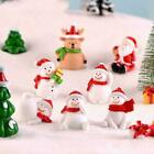 Christmas+Miniature+Snowman+Santa+Claus+Fairy+Garden+NEW+Terrarium+Decor+Z6X5
