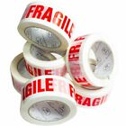 BROWN CLEAR  PACKAGING PARCEL PACKING TAPE FRAGILE STRONG 48MM X 66M