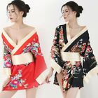 Comfortable Sleepwear Cosplay Costume Floral Printed One Size Polyester