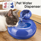 Pet Cat Dog Automatic Water Fountain Dispenser Drinking Bowl Bottle L/S ,CN