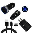 For Moto razr(2020) edge+ g7 play one 5G ace Wall Plug Car Charger Type-C Cable