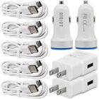 For Motorola Moto edge+ one Z4 zoom g7 g9 play USB Car/Wall Charger Type C Cable