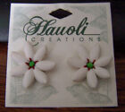 Hawaiian hyperallergenic Fimo Floral Stud Earrings