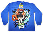 Ben 10 Long sleeved T-Shirt Ben, Wildmutt Diamondhead