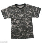 T Shirt Mens Subdued Urban Digital Camouflage City camo