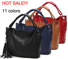 Women Genuine Leather Shoulder Handbag Tote Satchel Bag