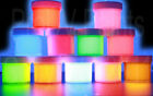 UV Reactive NEON RAVE ACRYLIC AIRBRUSH or STENCIL PAINTS