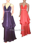 Purple Formal Evening Dress SZ 10 12 14 16 18 20 22 New