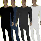 Mens thermal underwear wear john long & long sleeve vest ski  warm brushed set