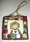 ORNAMENTS~Fabric & Button~Boy or Girl~Design & Verse Vary~NEW~FREE SHIP