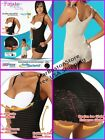 Body Lace Ultra-Silhouette Girdle, Short Body Shaper, Faja Moldeadora Encajes
