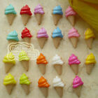 Assorted Ice Cream 13mm Plastic Buttons Sewing Scrapbooking Cardmaking Craft