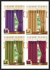 Next Faux Silk Fully Lined Eyelet Ring Top Curtains Wine,Lime,Purple,Latte
