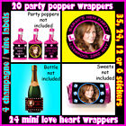 DIY Personalised L-Plate PARTY PACK with 4 Photo Products 4 Hen Night Party bags