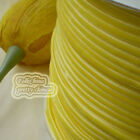 "3mm 1/8"" Yellow Velvet Ribbons Craft Sewing Trimming Scrapbooking #18"