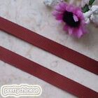 50 Yards Brown Grosgrain Ribbons Sewing Scrapbooking Craft 6mm,10mm,15mm #135