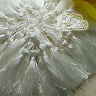 White 12cm Tassels Craft Sewing Curtains Trimming Embellishment T3