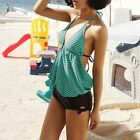 Sexy Padded Women swimsuit Monokini Swimwear Green