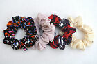 Hand made scrunchies 4 designs 99p each JERSEY AND JERSEY LIKE FABRIC