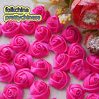 Hotpink 15mm Polyester Rose Trimming Sewing Scrapbooking Appliques HB15-175
