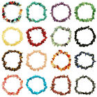 GEMSTONE Crystal Chip Beaded Stretch BRACELETS