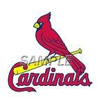 MLB ST. LOUIS CARDINALS T-SHIRT IRON ON TRANSFER 3 SIZES FOR LIGHT & DARK FABRIC