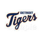 MLB DETROIT TIGERS T-SHIRT IRON ON TRANSFER 3 SIZES FOR LIGHT & DARK FABRIC