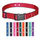Underground Fence Nylon Replacement Dog Collar Petsafe-all colors and sizes