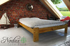 "Wooden Pine King Size bed ""Ada ""NEW  solid  pine oak walnut alder furniture 5ft"