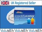 New Silent Night Warm Cool & Cosy Duvet Dual Two 2 Tog Double bed 10.5 13.5 tog