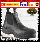 Oliver Work Boots Steel-Toe 55227 Black Safety. Brand New! *All Sizes