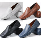 genuine Leather Causal Business slip on men  Loafer shoes car shoes Moccasin