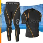 New Mens Compression Under Base Layer Gear Shorts Wear Shirt & Pant R04P06BO