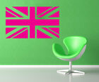 Union Jack - Great Britain Silhouette Wall Art - Various Sizes and Colours
