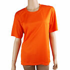 Women's Coolon fabric Fast Drying solid Blouse Top (TP_002)_Orange M/L/XL/2XL